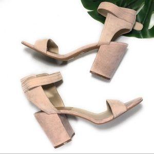 DOLCE VITA - suede heel sandal